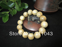 Kalimantan Indonesia Inverted frame aloes agarwood beads natural agalloch eaglewood bead bracelet aloeswood beads 15mm for men