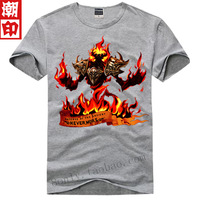 free shipping Dota short-sleeve T-shirt - - clothes dota09 dota t-shirt multicolor