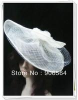 Free shipping elegant sinamay fascinator hats ,good bridal wedding hats,cocktail hat,Very nice,MSF231