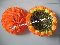 20cm 30pcs/lot ORANGE rose ball wedding flower ball decoraiton