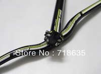 2012 NEW Green  full carbon fibre MTB bike flat  handlebar bike bicycle seatpos free shipping