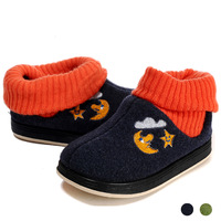 2013 ploughboys cotton-made shoes high yarn socks male girls shoes plus velvet thermal rubber shoe sole baby shoes