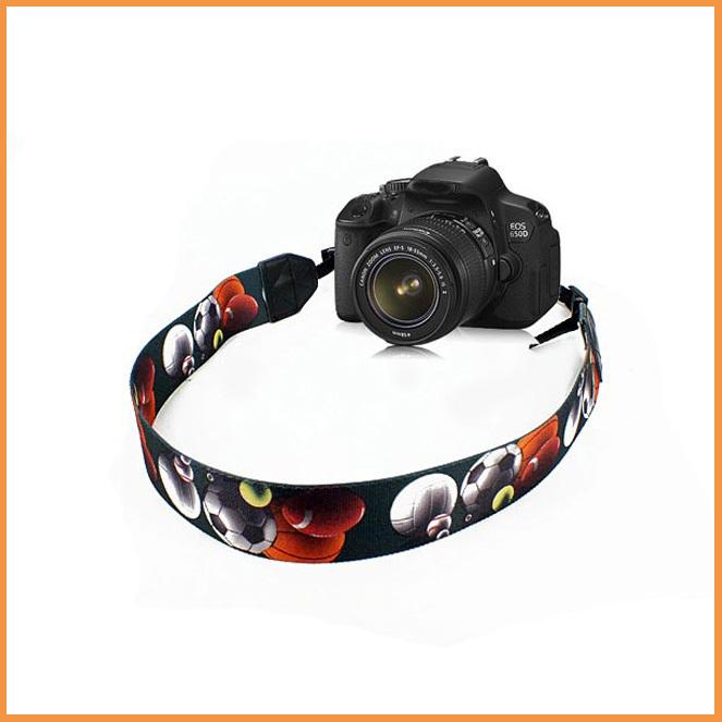 Free shipping Football Shoulder Neck Digital cameras strap for Canon Olympus Nikon DSLR(China (Mainland))