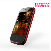 Female mobile phone d200t dual sim dual standby smart touch 3g Women