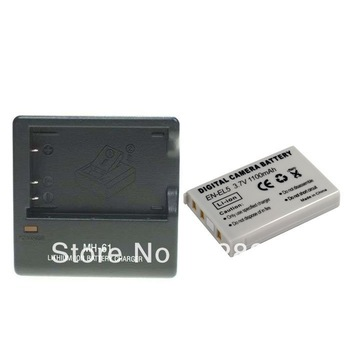 EN-EL5 Camera Original Rechargeable Li-ion Battery + MH-61 Charger For Nikon Digital Camera Free Shipping