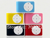 free shipping promotion MINI Flash Gift  mini Clip mp3 player support micro sd card 1-8GB 10pcs/lot