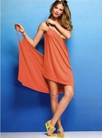 Microfiber towel 70*140cm high quality sling sexy superfine fiber full dress bath towel free shipping