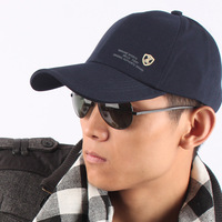 Free shipping 2013 New Baseball cap hat male spring and autumn casual cap summer hat outdoor sun hat