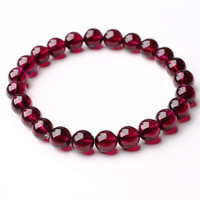 Accessories natural rose garnet bracelet beauty gift