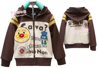 Children&#39;s clothing d.y loop pile fleece outerwear jacket child outerwear
