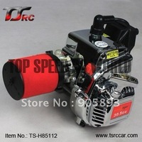 Rovan 30.5cc Chrome 4 hole Engine/motor with imported NGK spark and carbulator walbro 998 for baja 5B++Retail/wholesale