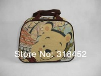 free shipping10inch  cartoo   Winnie the Poohtravel bag cosmetic bag backpack bag variety of optionalTravel subpackages