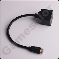 Free shipping HDMI Male To 2 HDMI Female Splitter Adapter Cable #9901