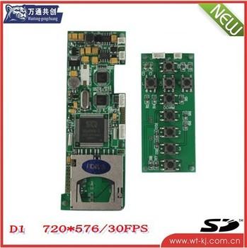 2CH DVR Module For Car/Bus/Taxi, etc.;2CH d1 dvr mini dvr module