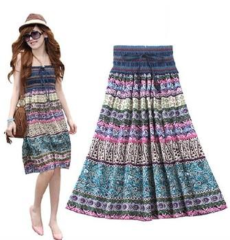 Free shipping 2013 Bohemian loose cotton denim collar women knee-lenth women dress 9277