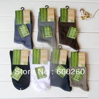 Free shipping Holiday Sale  Bamboo fiber men's socks color mix 10pair/lot 5310