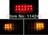 motorcycle parts Smoke Integrated LED Tail Light Signal For Kawasaki Ninja ZX 250R 2008 2009 2010 motorcycle tail lamp