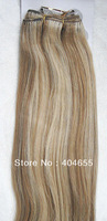 "#18/613 mix blonde 100% human hair weaving weft straight  20"" 24"" 28"" FREE SHIPPING"