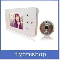 2.8 TFT LCD Screen Built in 2GB Memery Card Night Vision Peephole Door Viewer Vamera 10Pcs/Lot EMS Free Shipping