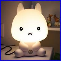 Lovely Cartoon Desk Lamp Rabbit Table Lamp Rabbit Night Light Cartoon Christmas Gifts LE14