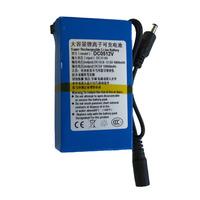 DC 5V 10000mAh 12V 4800mAh Super Rechargeable Lithium-ion Battery for camera DVR DC0512v