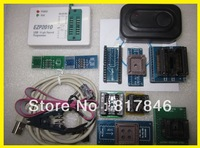 Free Shipping EZP2010 Programmer USB SPI Programmer support 24 25 93 EEPROM flash bios chip+SOIC8 Clip IC Clamp+9Adapater SSOP8