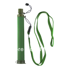 Free Shipping Water Straw Filter Portable Water Purifier for drinking 800L