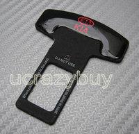 2pcs/LOT Car accessary  metal   Eliminate Stop Alarm Seat  Belt  Insert Plug for KIA