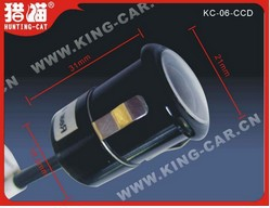 brand new 12V  waterproof high definition night vision car rear view  camera  KC-06 CCD