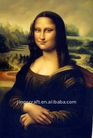 Free shipping size 30x40cm World famous character Mona Lisa wall Hanging