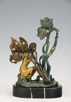 Bronze sculpture, crafts home decoration housewarming gift fashion decoration mousse zt-010b