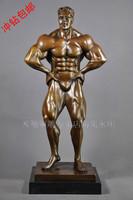 Carving Work of Art Bronze sculpture, home decoration fashion copper sculpture crafts callisthenics ds-488 series