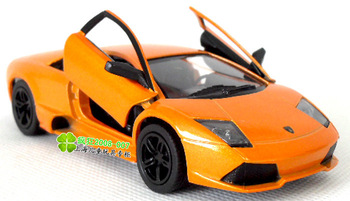 5 kinsmart WARRIOR lamborghini batmobile orange alloy model car