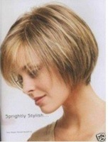 New Super Beautiful Short Charming wig /wigs Free shipping