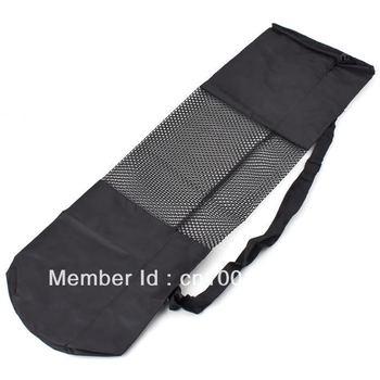Высокая QualityHot продать популярные портативный коврик для йоги сумка полиэстер нейлоновая сетка черный рюкзак для здоровья beautity спортивного