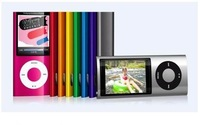 New Cheap 5th 32GB MP4 player 2.2 LCD Camera Scroll Wheel 1.3MP Camera FashionableMP4 Player with free ship SG POST