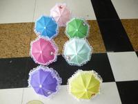 Child mini umbellule toy umbrella decoration super mini props  technology solid color small