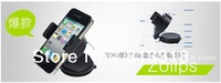 Free Shipping Car Universal Holder Mount Stand for iphone 5 5th mobile phone/GPS/MP4/PDA Rotating 360 Degree