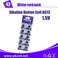 100pcs/10 Blister AG13 LR44 L1154 RW82 RW42 SR1154 SP76 A76 357A battery LOT Coin Cell Button Batteries wholesale LOT