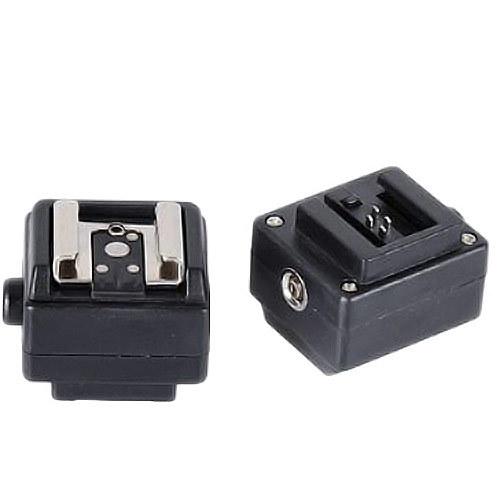 Brand New Flash Hot Shoe Adapter for Sony Camera to Canon Nikon Flash PC Socket E0221A Fshow(China (Mainland))