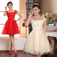 2013 Special Occasion Lady Dress for Wedding High Quality Formal Evening Dress Short Design