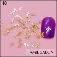 Golden Nail Art Metal Sticker Small Crown Slice Nail Art Decoration Decals 1000pcs/lot  #10