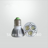 bargain price Wholesale!Free shipping !!Energy-saving 1X3W Spot Led Light with E27/e14/gu10/gu5.3/MR16 Lamp holder