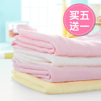 Bamboo fibre multifunctional gauze double layer gauze handkerchief bib baby bath towel scarf