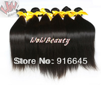 "New arrival Wholesale 12-28""Russian human hair extension,#1B off black, silky straight 100g/pack 3packs/lot Free ship"
