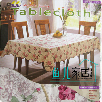 Rustic waterproof table cloth disposable gremial table cloth tablecloth dining table cloth table cloth pvc oil high temperature