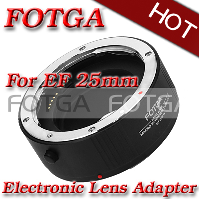 Offer OEM AF Automatic Auto Focus 25mm DG II Macro Extension Tube for Canon EOS EF EFS(Hong Kong)