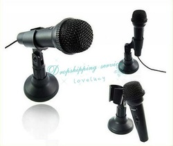Mic Microphone for Laptop Notebook PC Computer MSN 2022 Hot Drop Shipping/Free Shipping wholesale(China (Mainland))