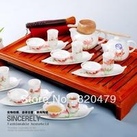 Ceramics 20 gift kung fu tea set business gift