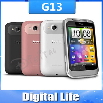 G13 Original HTC Wildfire S A510e Mobile Phone android 3G WIFI GPS 3.2inch 5MP